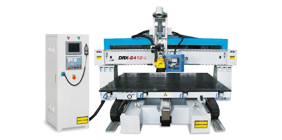 DRX-2412L  Moving Table CNC machine